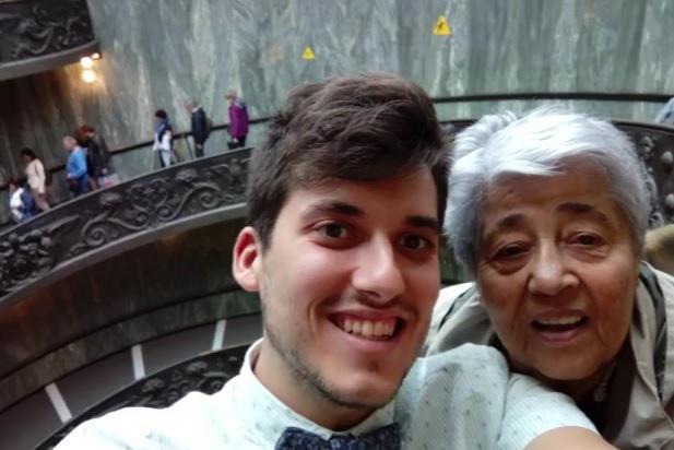 Εγγονός πήρε την 83χρονη γιαγιά του στην Ρώμη γιατί δεν είχε ταξιδέψει εκτός Ελλάδας εδώ και μισό αιώνα - Εικόνα 2