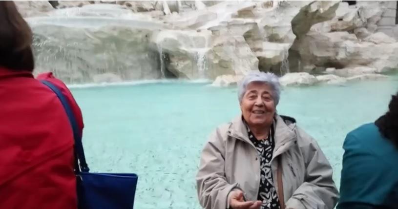 Εγγονός πήρε την 83χρονη γιαγιά του στην Ρώμη γιατί δεν είχε ταξιδέψει εκτός Ελλάδας εδώ και μισό αιώνα - Εικόνα 3